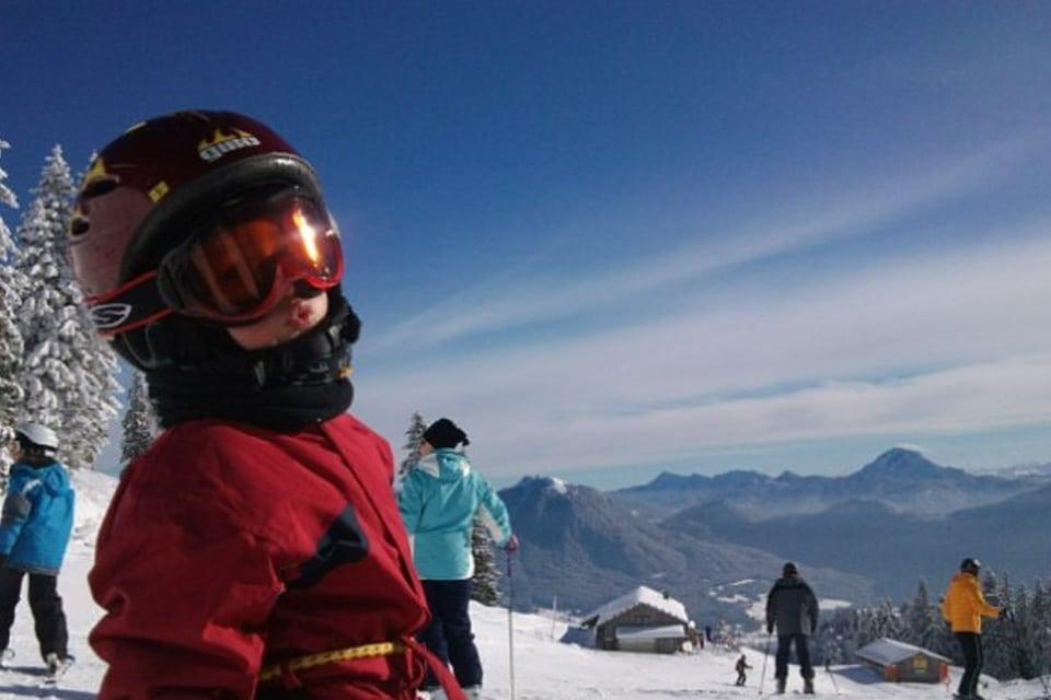 Zu fünft im Skifieber – Familienskifahren