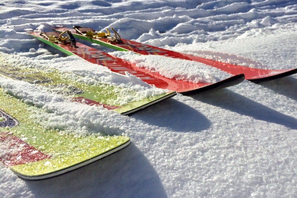 Skifahren mit der Familie