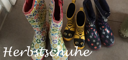 Da sind sie – unsere neuen Schuhe für den Herbst