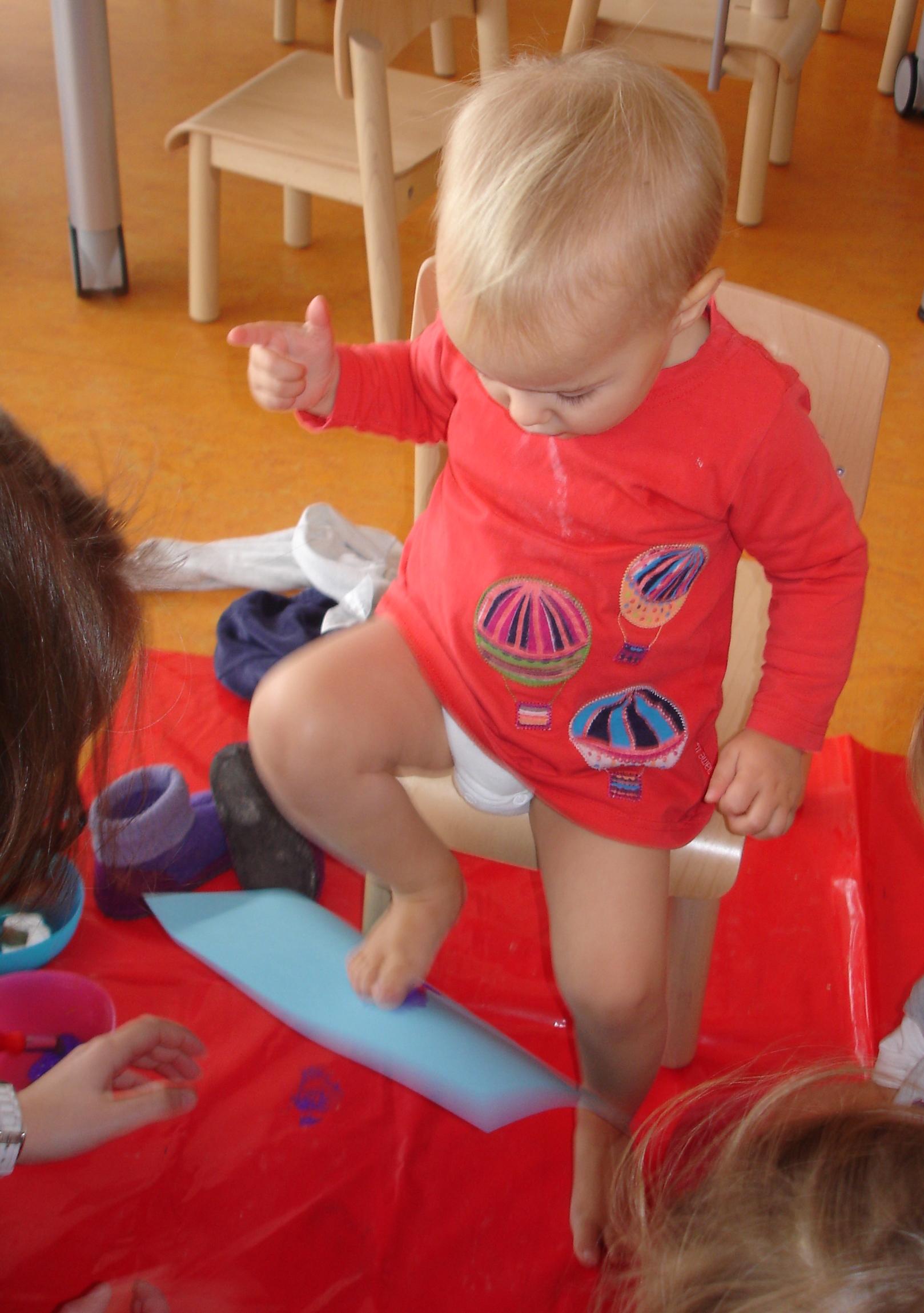 Blick durchs Schlüsselloch:  Der Krippenalltag unserer Tochter