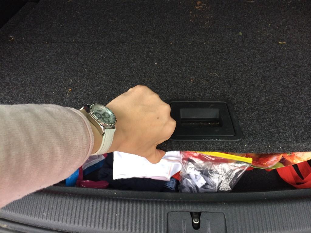 Kofferaumabdeckung VW Golf Plus