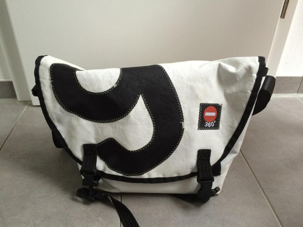 360 Grad Tasche Wickeltasche