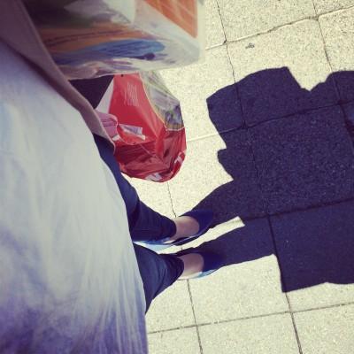 Vereinbarkeit - in der Mittagspause noch schnell Einkaufen gehen, damit der Nachmittag mit den Kids frei ist