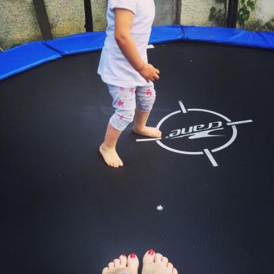 Sport für Kids - Trampolin