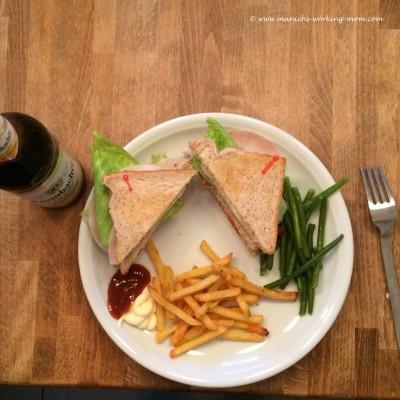 Homemade Clubsandwich