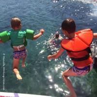 Ausflug mit dem Boot - Ab ins Meer