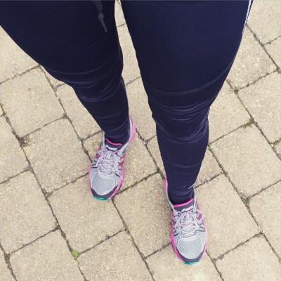 Laufen gegen Stress hilft bei mir immer!