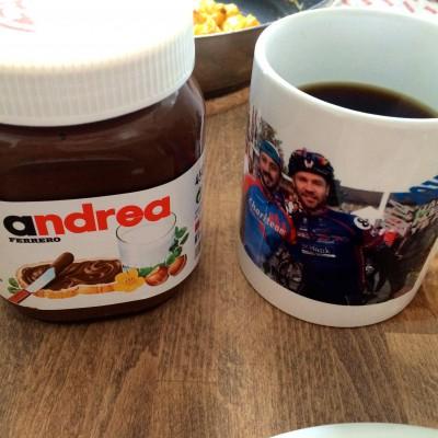 Jens Vogt und Nutella
