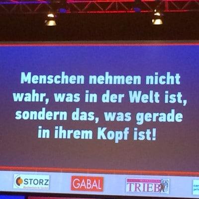 Folie eines Votrags des Stuttgarter Wissensforums 2014