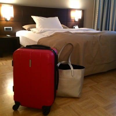 18.00 Uhr - endlich im Hotel - was ein langer Tag!