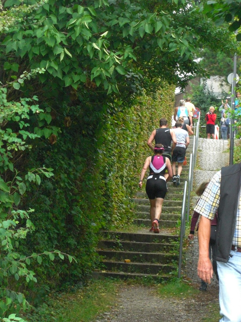 Anstieg Wörthsee Triathlon