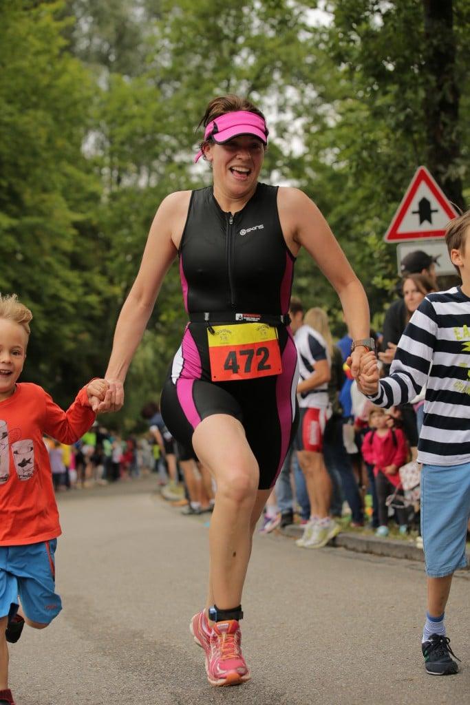 Zieleinlauf Wörthsee Triathlon