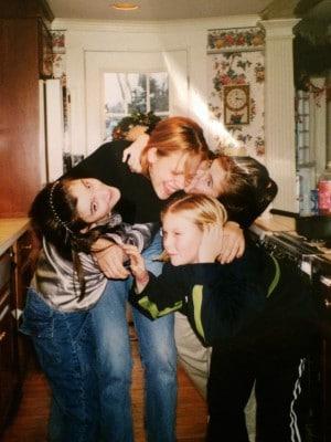 Ich, meine Au Pair Familie - zumindest ein Teil