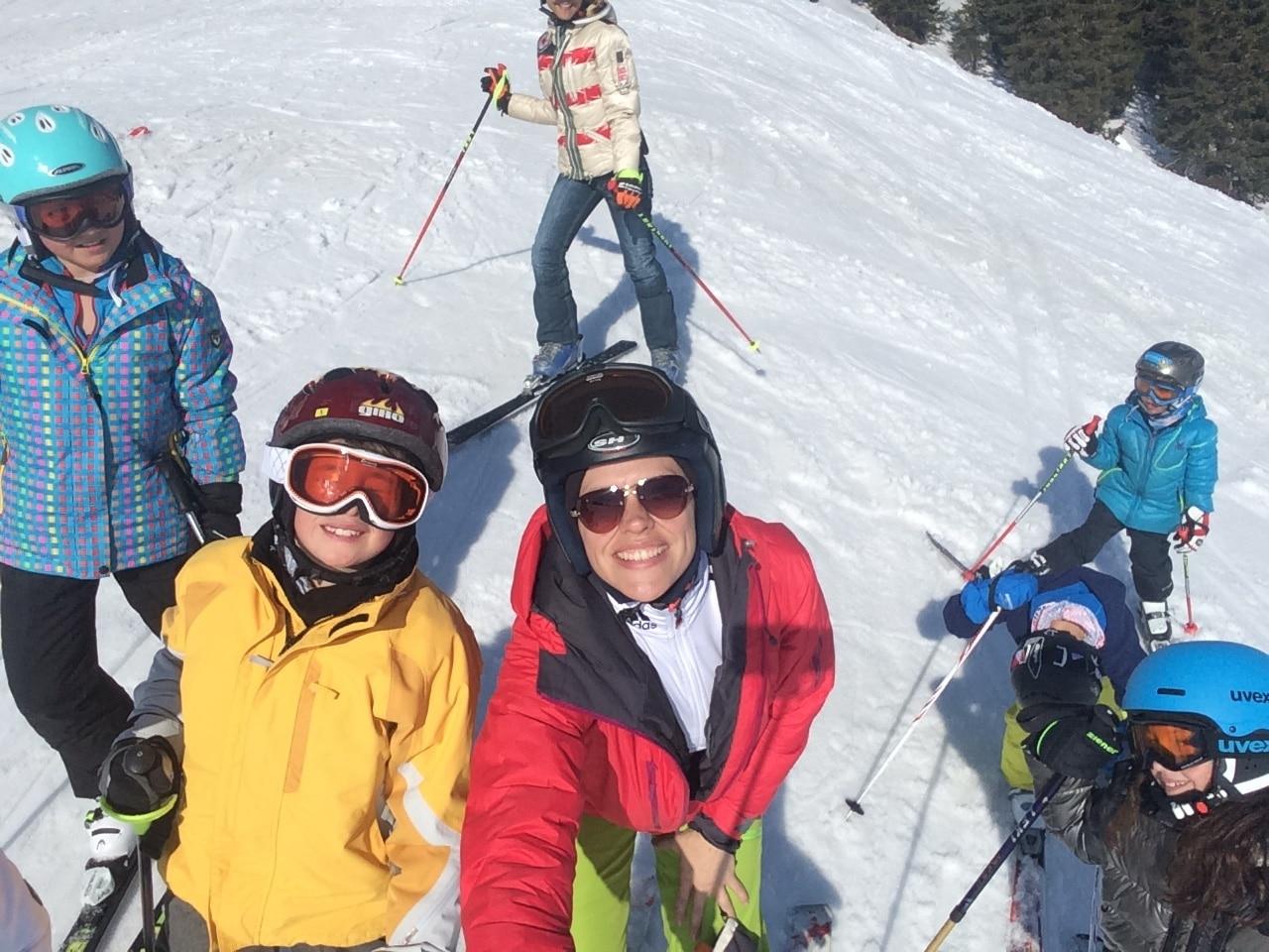 Skitag mit Kindern