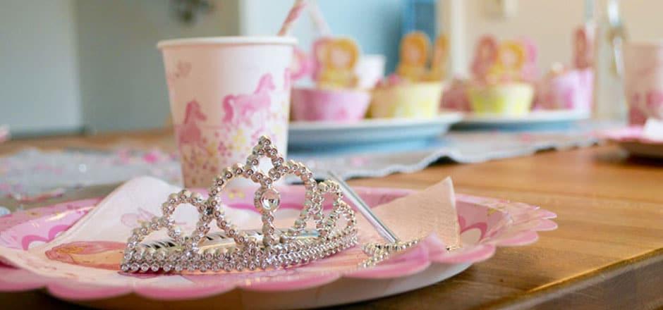 Kinderdisco für Prinzessinnen – unsere Geburtstagsparty