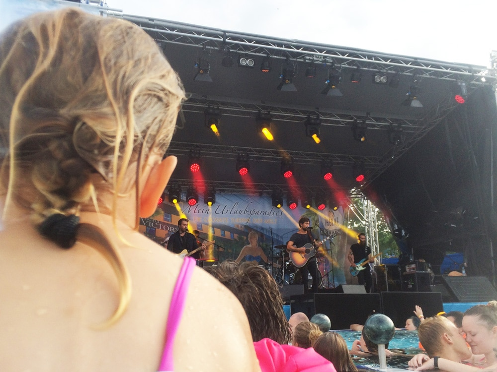 Live Konzert Therme Erding