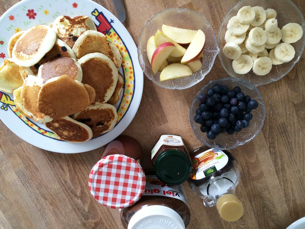 Schlaf gut und Frühstücke lecker