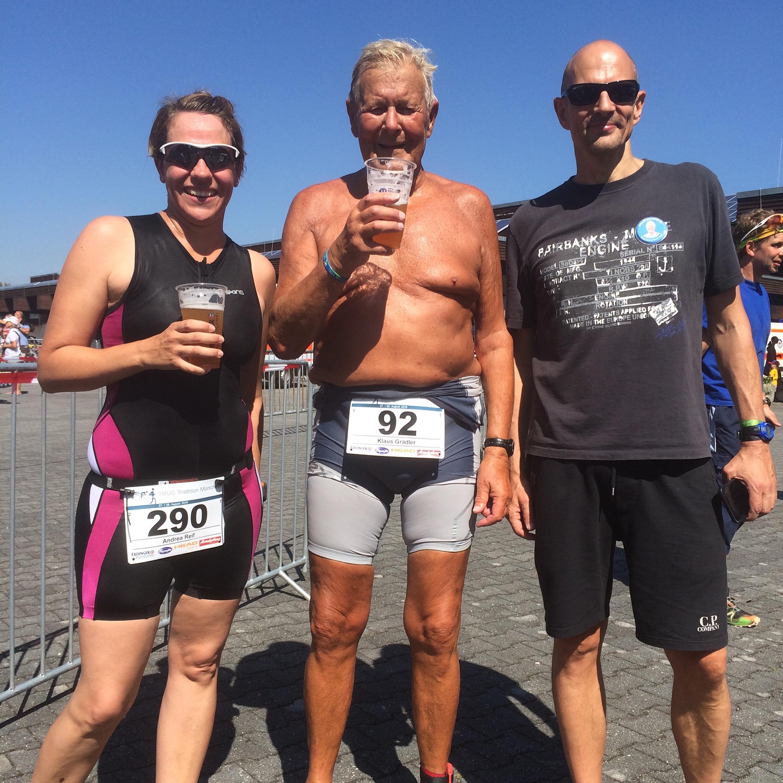 Triathlon mit 80 Jahren