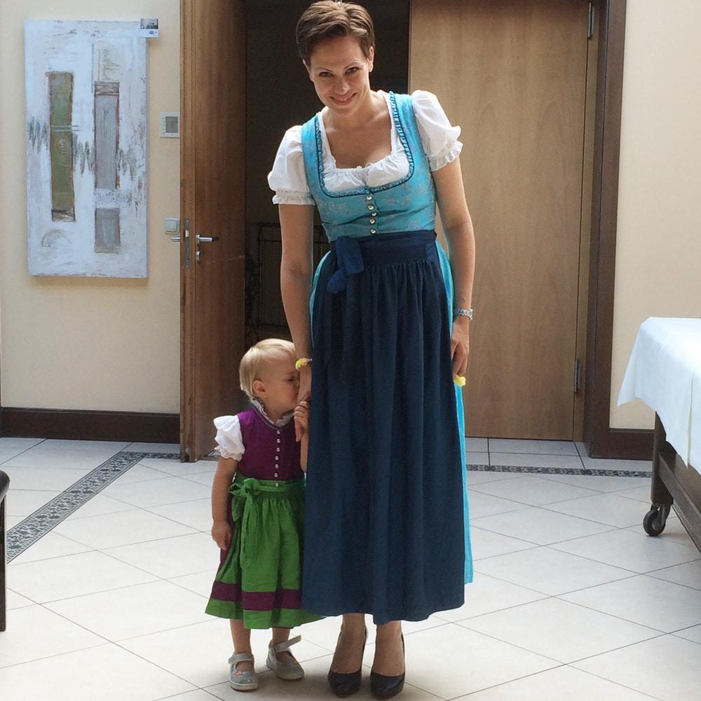 Wiesn Outfit Mutter Tochter