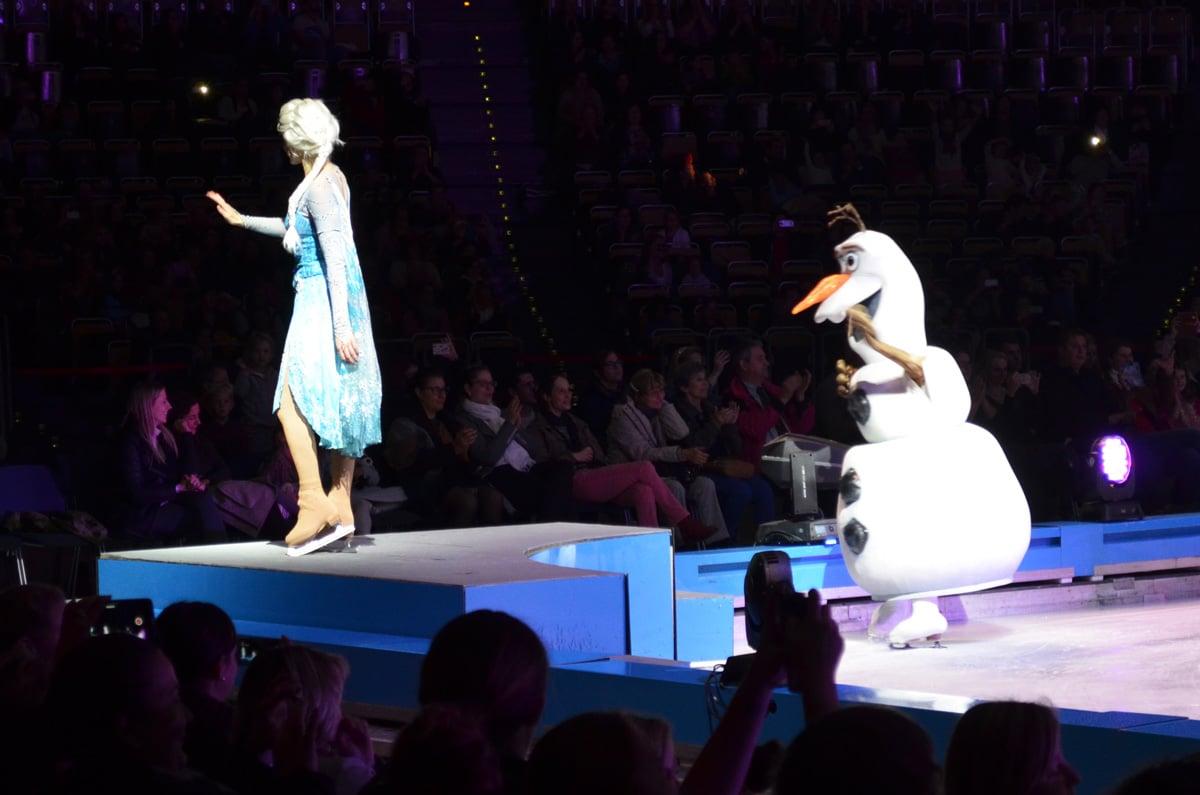 Elsa die Eiskönigin on Ice