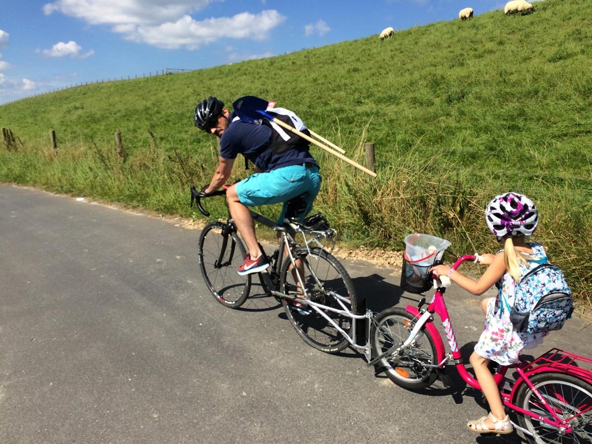 Radtour mit Kleinkindern