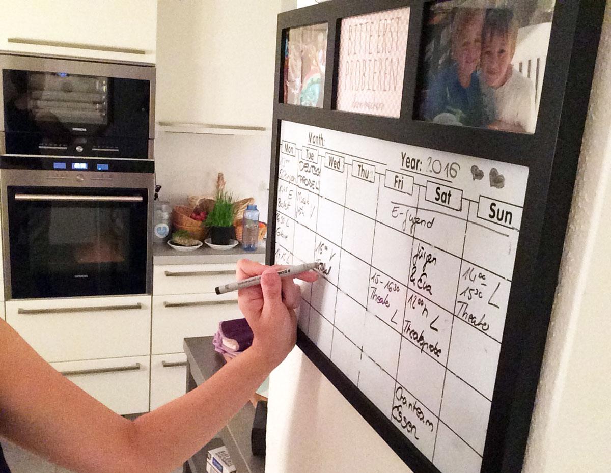 Organisation von Haushalt Familie Beruf