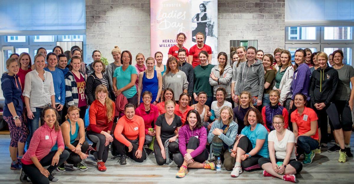Frauen gemeinsam Sport machen