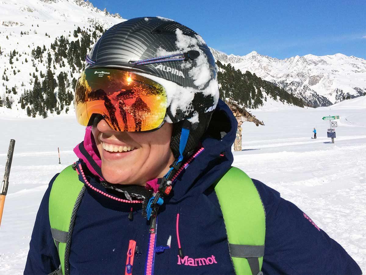 Alpina Tourenskihelm