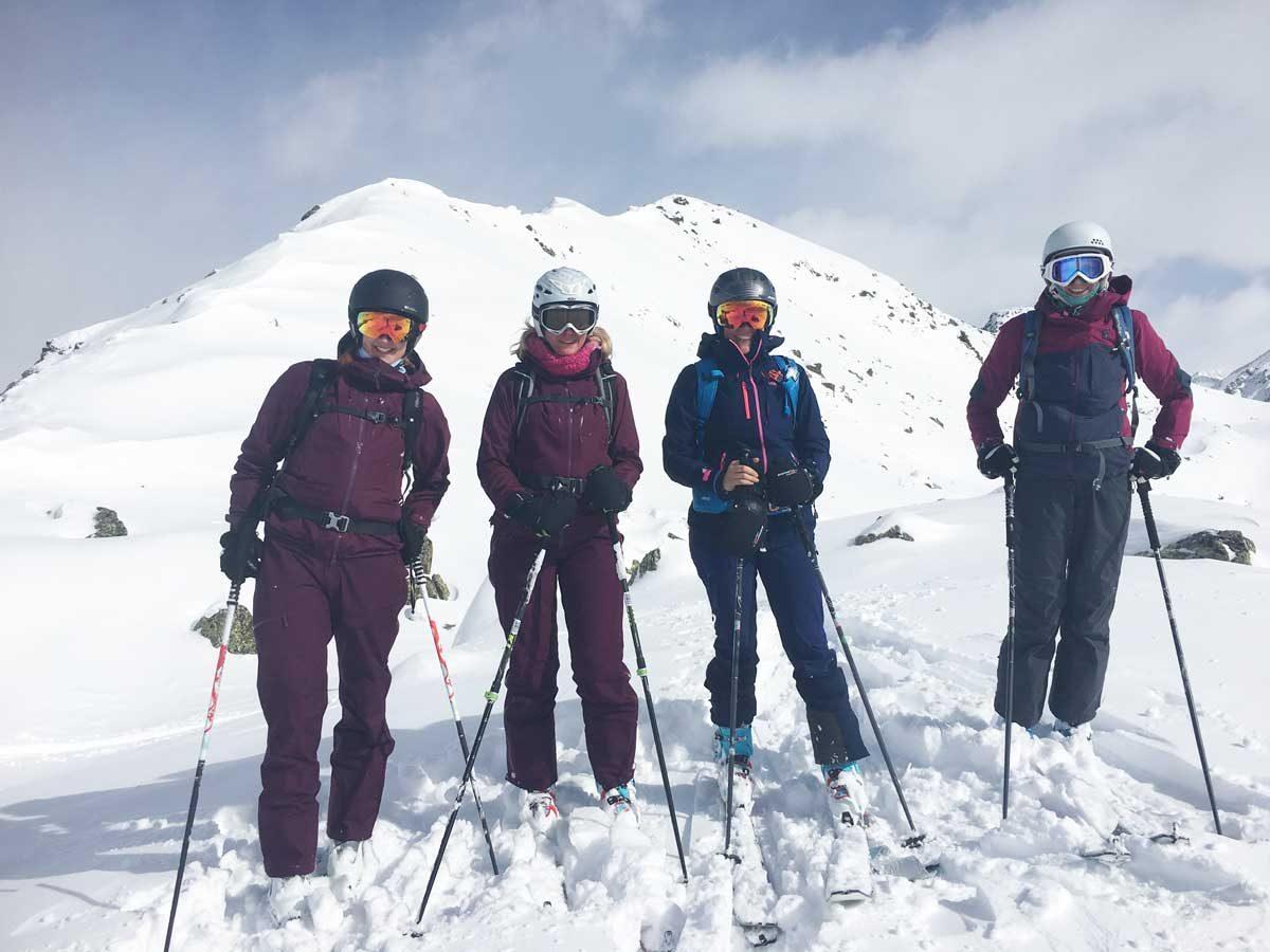 Skitourengehen im WomensWintercamp