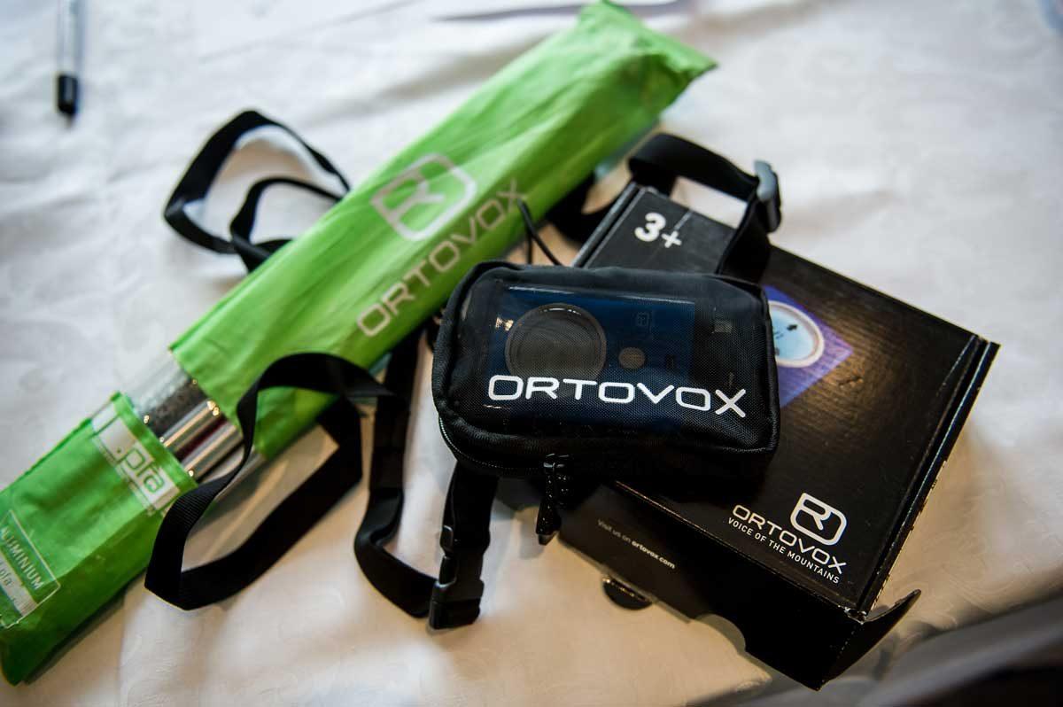 Ortovox Tourengeh-Ausstattung Womenswintercamp