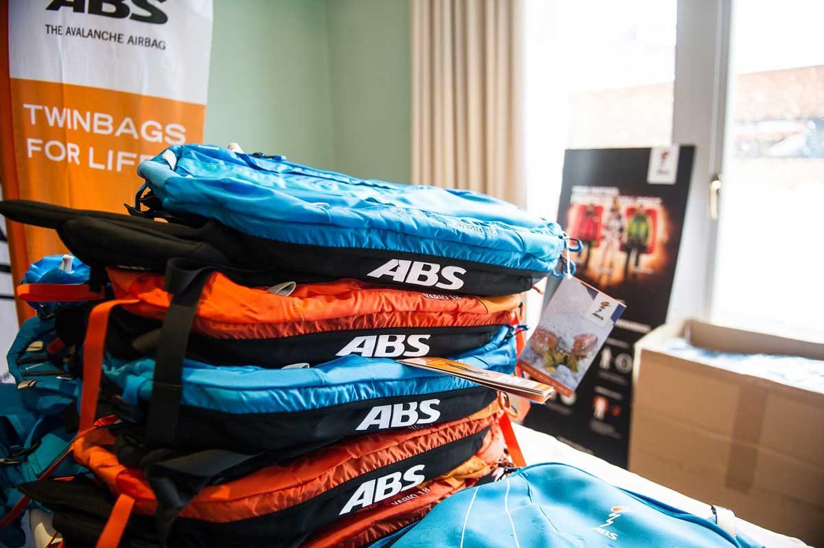 ABS Lawinenrucksack zum Tourengehen