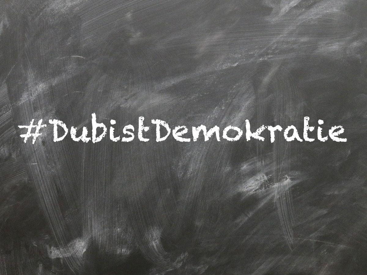 #DubistDemokratie – warum Politik auch für unsere Kinder wichtig ist