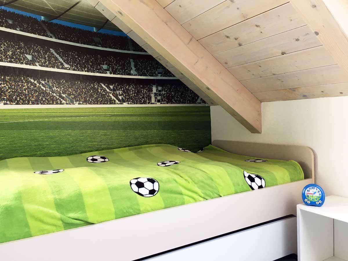 Fußballzimmer selbst gestalten