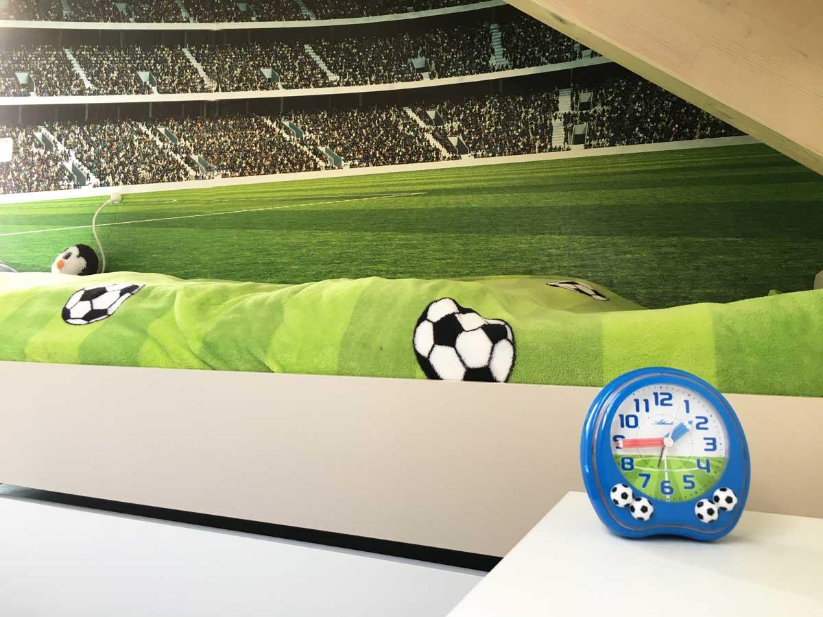 Kinderzimmergestaltung: Ein Fußballzimmer für den Mittleren