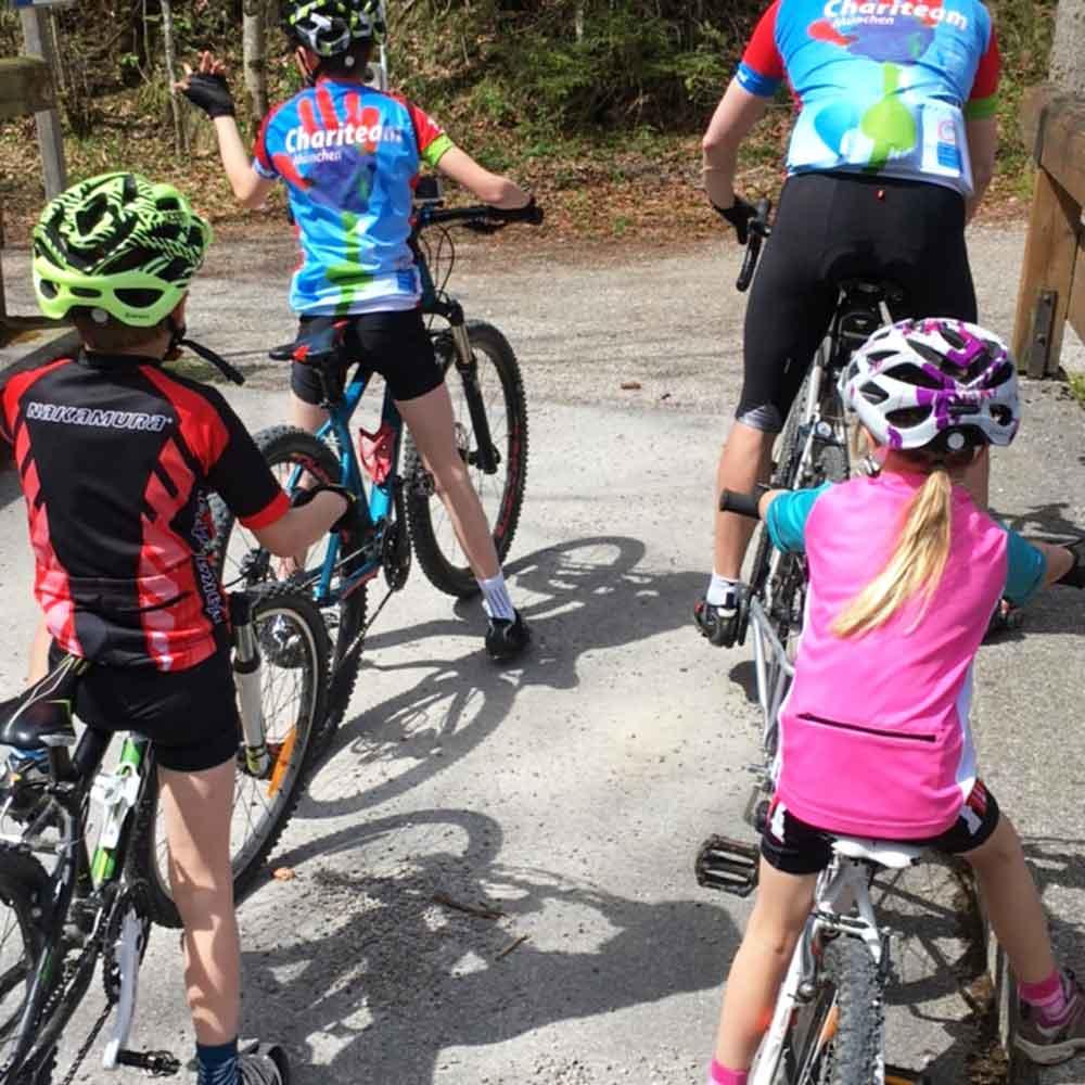 Mountainbiketour mit Kindern in Bayrischzell