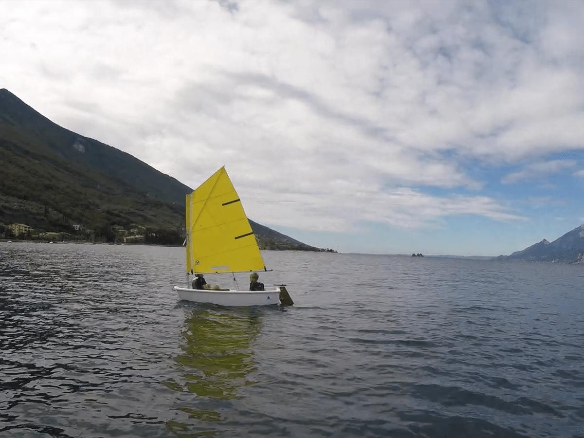 Segeln am Gardasee Stickl Sportcamp Segeln für Kinder