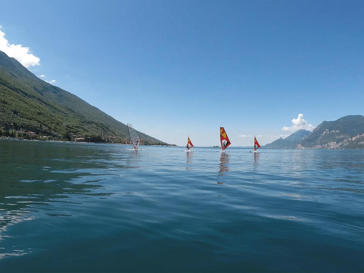 Segelunterricht für Kindern am Gardasee