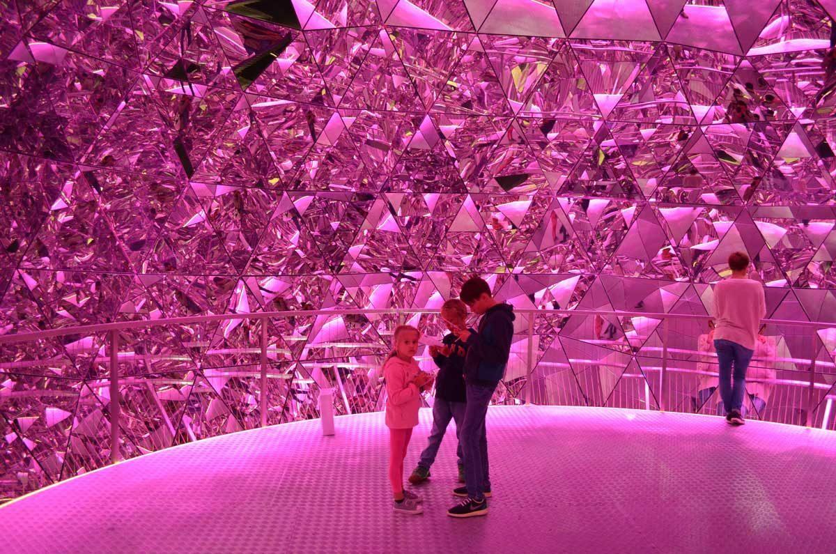 Kristallwelten Glaspalast