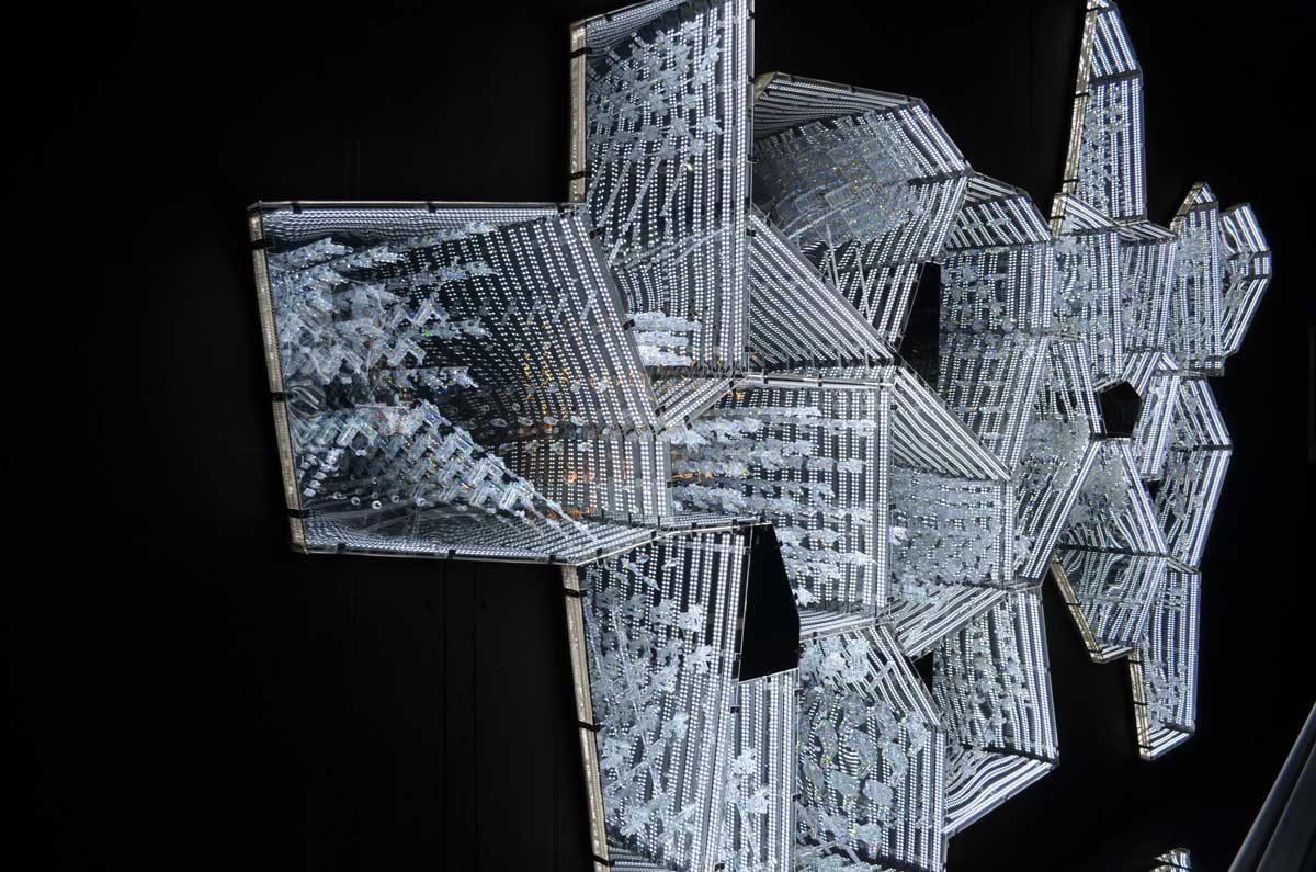 Installation Kristallwelten