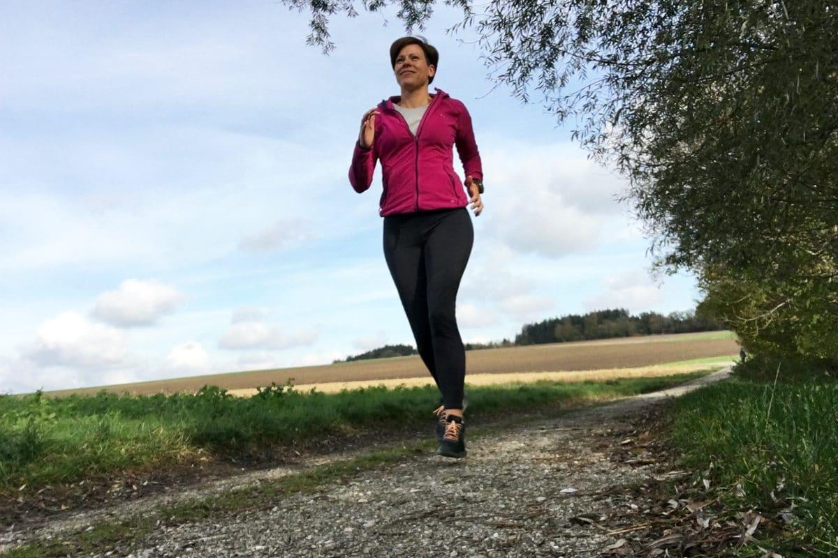 Laufen mit Pulsuhr