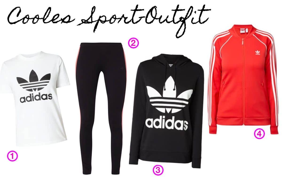 Cooles Sportoutfit