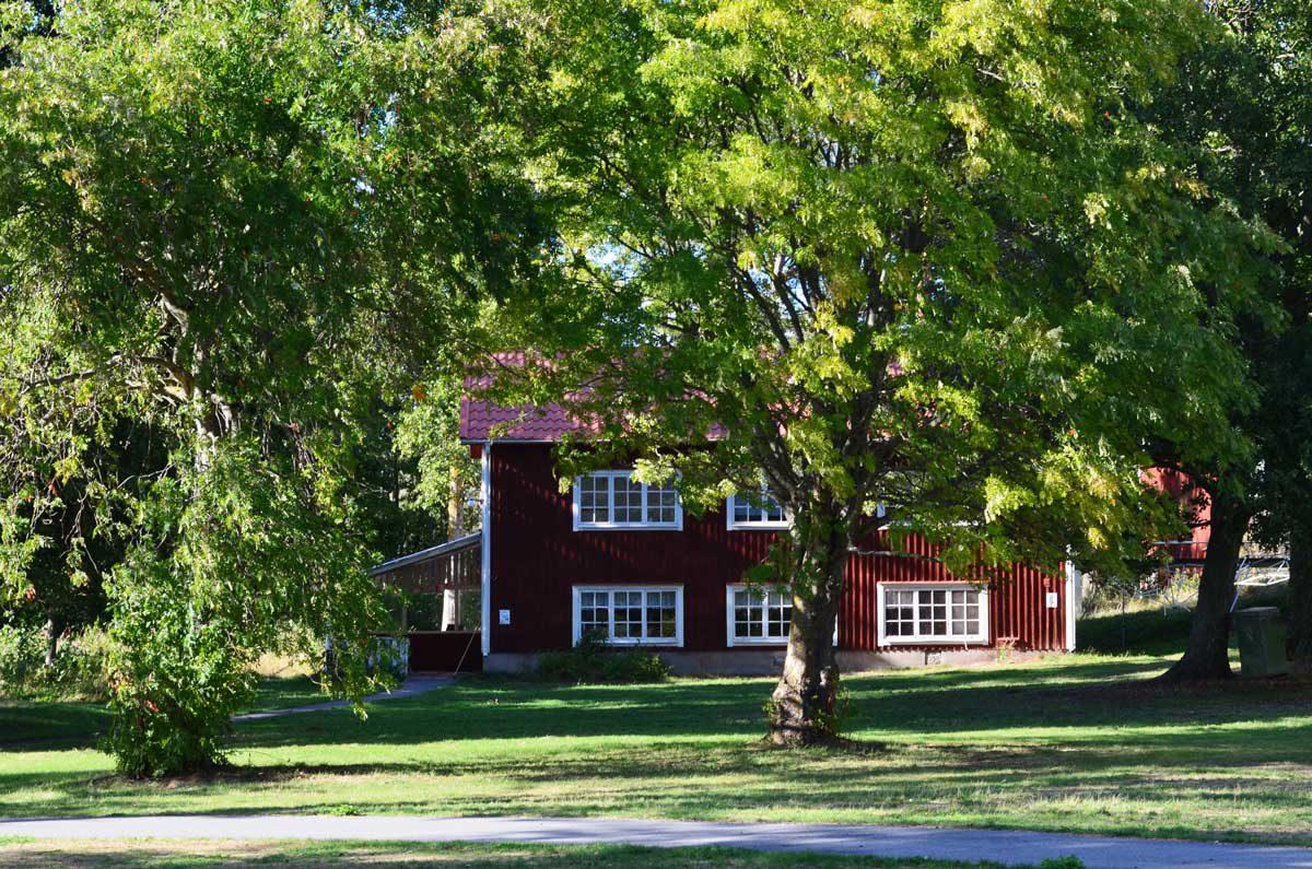 Typisch Schwedisches Haus am see